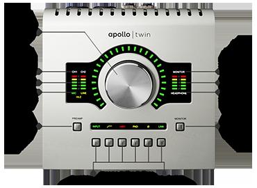 Univeral Audio Apollo Twin mogelijkheden