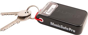 Alpine MusicSafe Pro sleutelhanger