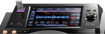 Pioneer XDJ-1000 touchscreen