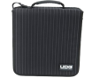 CD mappen & cases UDG CD Wallet 128 Black/Grey Stripe