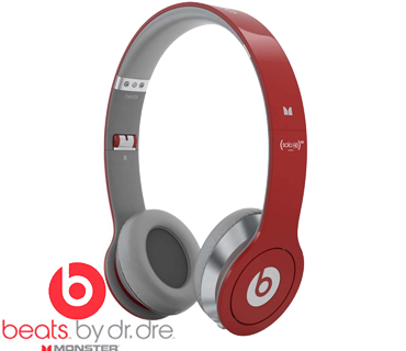 Monster Beats by Dr. Dre Solo HD rood