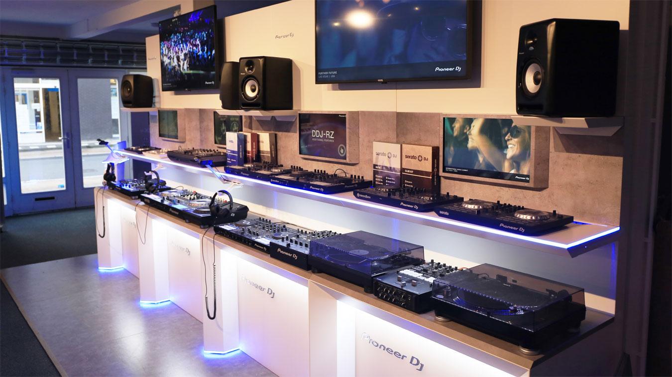 Pioneer DJ winkel Amsterdam