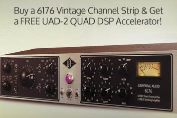 Koop een 6176 Channel Strip en ontvang een gratis UAD-2 Quad
