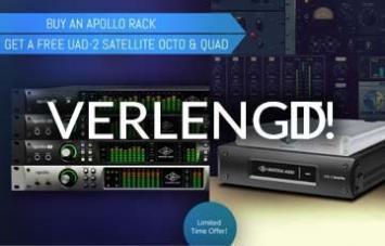 UAD verlengt gratis Satellite actie tot eind maart 2018