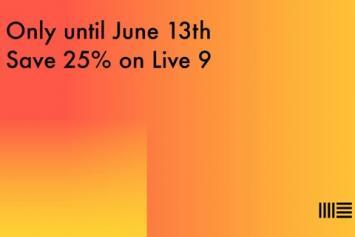 Ableton tijdelijk 25% goedkoper