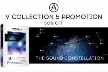 Arturia V-Collection 5 voor de helft van het geld!