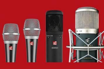 Schrijf een sE Electronics recensie en maak kans op een microfoon