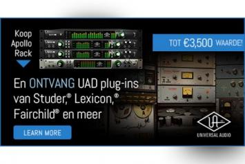 Koop een Apollo rackmount en ontvang gratis UAD plugins!
