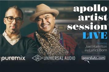 Apollo Artist Session: Joel Hamilton & Lyrics Born