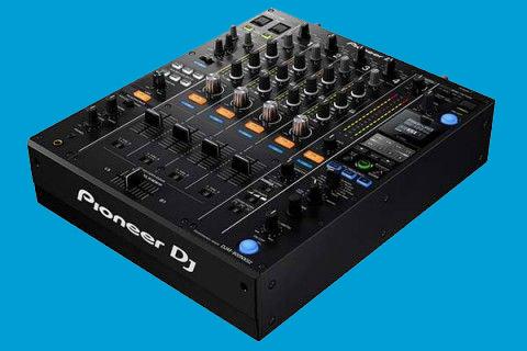 Een DJ mix opnemen met een Pioneer mixer
