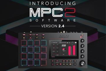 Akai update 2.4 voor MPC X en MPC Live