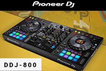 Compact mixen met de Pioneer DDJ-800