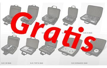 Gratis tas ontvangen bij je nieuwe Pioneer product?