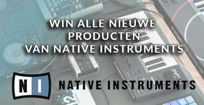 Win alle nieuwe gear van Native Instruments