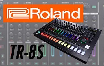 De TR-8S brengt live performance terug naar de DJ Booth